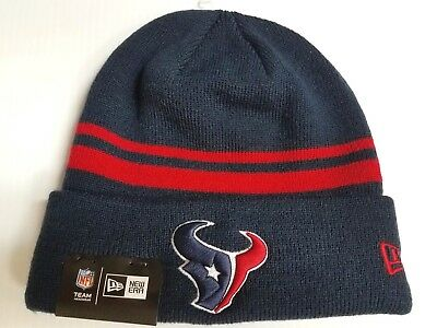 ... norway houston texans new era knit hat striped cuff beanie stocking cap  nfl 72b7b 13f42 edecf7498