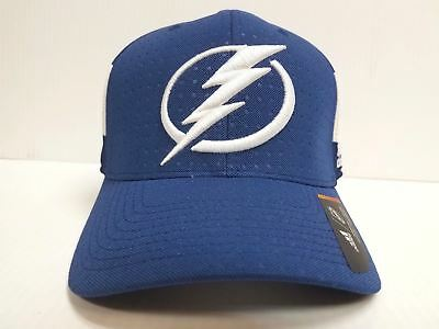 72912929287 Tampa Bay Lightning Adidas Cap Official 2017 NHL Draft Stretch Fit Fitted  Hat