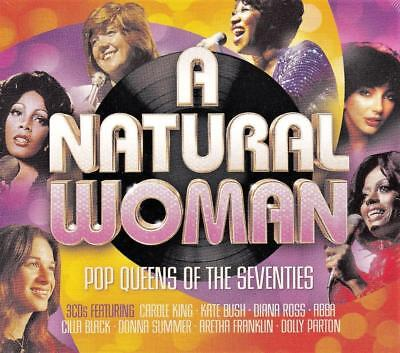 A Natural Woman - Pop Queens Of The Seventies -Various Artists(New  Sealed 3Cd )