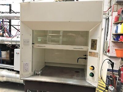 FISONS Scientific Laboratory ducted Fume Cupboard Fume Hood cabinet cup board