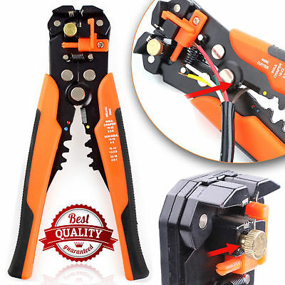 Automatic Cable Wire Crimper Stripper Self Adjustable Plier Cutter Crimping Tool