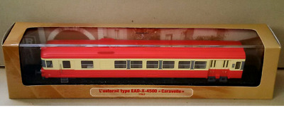 Train Model L'AUTORAIL TYPE EAD-X-4500 CARAVELLE 1963 - Atlas  1/87 [041 ]