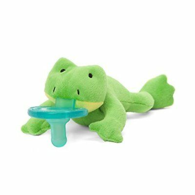 WubbaNub Infant Pacifier ~  Green Frog
