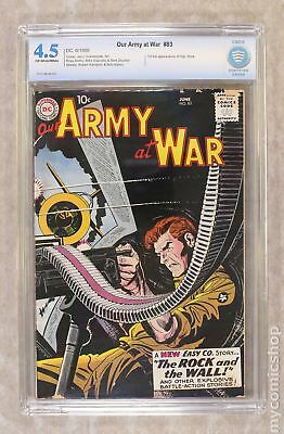 Our Army at War #83 1959 CBCS 4.5