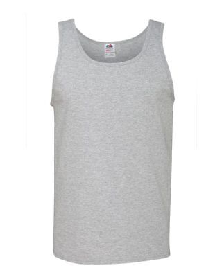 Fruit of the Loom Men's 5 oz. 100% Heavy Cotton HD Tank 39TKR S-3XL