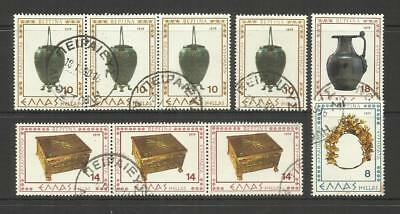 Greece ~ Small Mid  Modern Collection On 3 Stock Pages