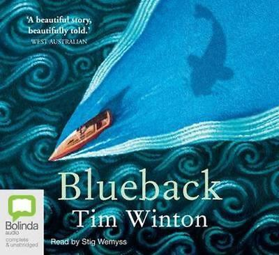 NEW Blueback By Tim Winton Audio CD Free Shipping