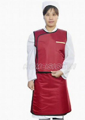 SanYi X-Ray Protective Imported Flexible Material Lead Apron Set 0.5mmpb M blue