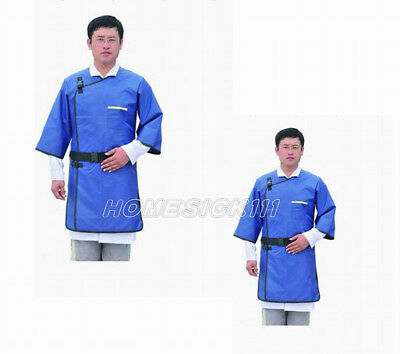 SanYi New X-Ray Protective Imported Flexible Material Lead Apron Coat 0.35mmpb M