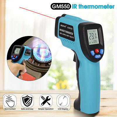 Digital Non-Contact Infrared IR Thermometer Temperature Laser Gun -50℃ to 550℃