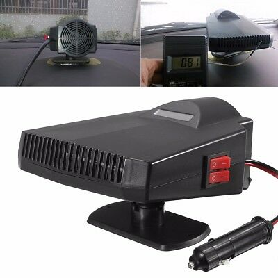 12V 250W Portable Car Heater PTC Fan Heating Vehicle Ceramic Defroster Demister