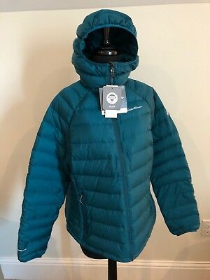ac417a94b NEW EDDIE BAUER First Ascent Womens Downlight Hooded Jacket Coat ...