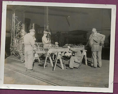 1950s Manston Air Force Base USAF Reinforcing Bubble Canopies Original Photo