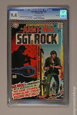 Our Army at War #170 1966 CGC 9.4 Mass. Copy 0150675017