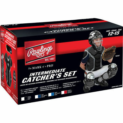 Rawlings RCSI-N/SIL Catcher's Sets - Ages