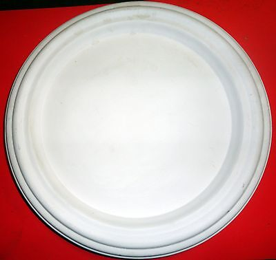CERAMIC CIRCULAR WALL PLAQUE or SERVING PLATE