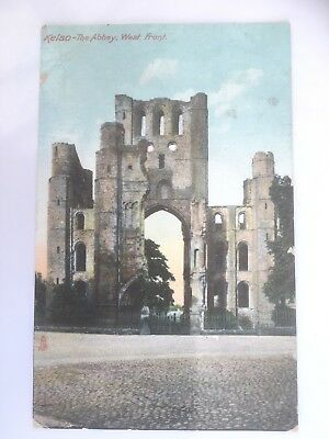 The Abbey, KELSO,   USED  1910 & Stamped  VERY CLEAN