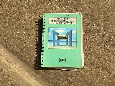 advanced reference manual for the bbc master microcomputer vintage rh picclick co uk bbc master computer manual BBC Master Tapes