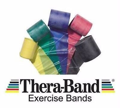 New Theraband Original Stretch Exercise Resistance Bands Pilates Yoga Ballet