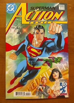 Action Comics #1000 1980s Middleton Variant Cover DC Comics 80 Years Supermam