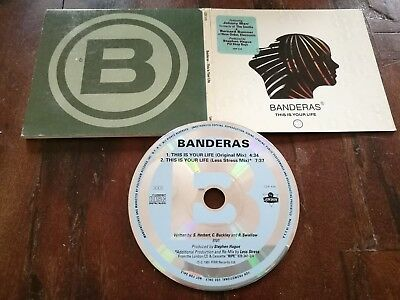 Banderas ?– This Is Your Life (The Smiths / New Order) DIgipack Promo Cd Ottimo