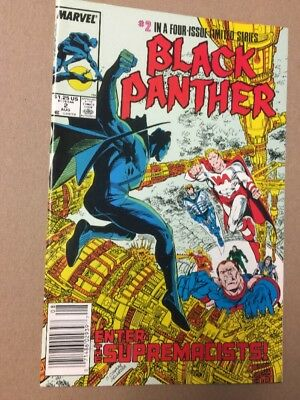 Black Panther 2 Limited Series Marvel Comics VF-NM 1988