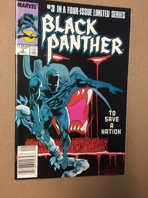 Black Panther 3 Limited Series Marvel Comics NM 1988
