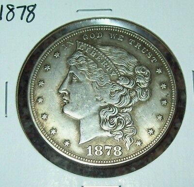 1878 Pattern Coin Silver Dollar Fantasy Issue Copy Coins Liberty Head Coronet