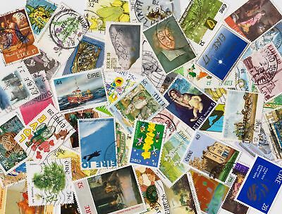 IRELAND Good Selection of 50 Used Commemoratives - all different - (100)