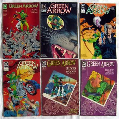 GREEN ARROW ~ Large Lot of 1988-1993 Comics by DC
