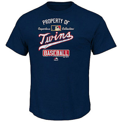 Minnesota Twins Officially Licenced Cooperstown MLB T shirt Medium