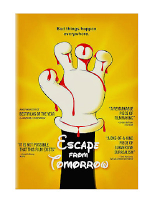 Escape from Tomorrow NEW FACTORY SEALED DVD Region 1 FREE SHIPPING TRACKING US