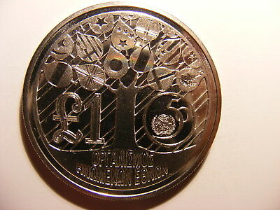 Cyprus 1995 1 Pound, KM#69a, 28.3 Grams, Coin Only!!