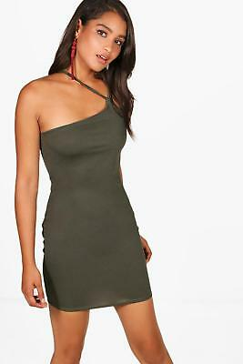 32c7e890f83a BOOHOO WOMENS NATASHA Snake Print Strappy Bodycon Dress - $12.00 ...
