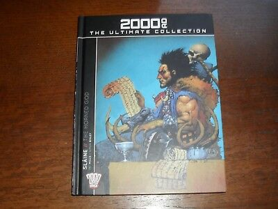 2000 AD The Ultimate Collection Slaine The Horned God .