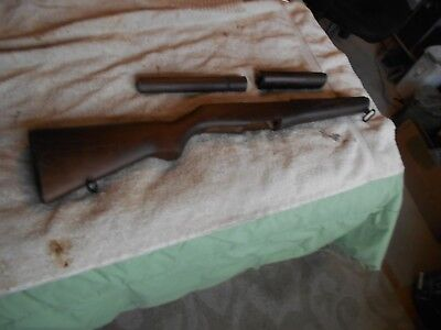 BOYT  WW2 US GI M-1 garand replacement wood stock w all metal & handguards