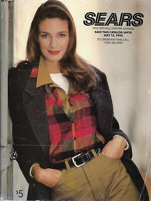 SEARS 1992-1993 Fall And Winter Large Catalog Free Shipping