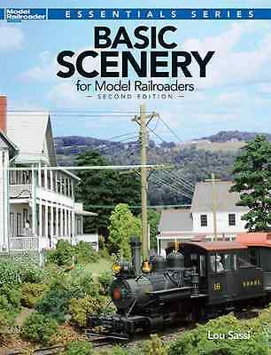 KALMBACH BOOK BASIC SCENERY for MODEL RAILROADERS SECOND EDITION
