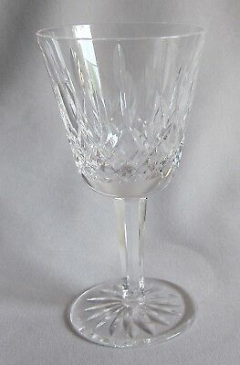 Claret Wine Glass Goblet Waterford Crystal Lismore Pattern