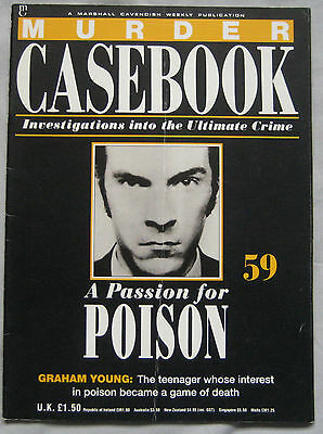 Murder Casebook Issue 59 - A Passion For Poison Graham Young