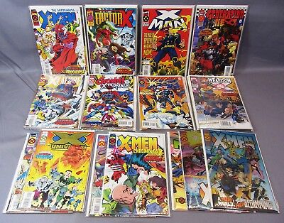 Age Of Apocalypse Complete : Marvel 1995 : 39 Issues : X-Men, Wolverine : Alpha