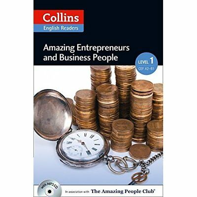 Amazing Entrepreneurs & Business People : A2 (Collins A - Paperback NEW Helen Pa