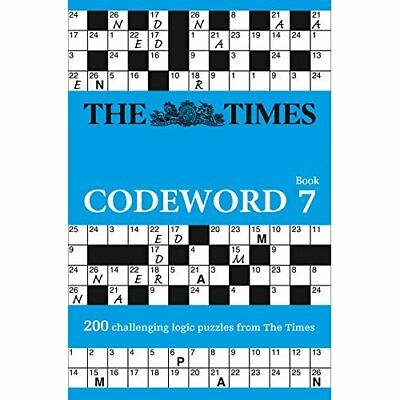 The Times Codeword 7 (Codewords) - Paperback NEW The Times Mind  14/07/2016