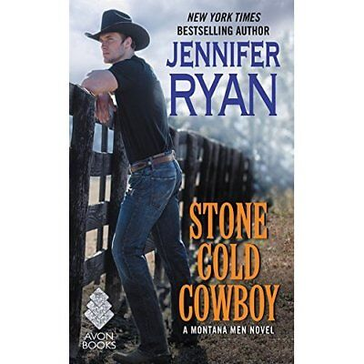 Stone Cold Cowboy: A Montana Men Novel - Mass Market Paperback NEW Jennifer Ryan