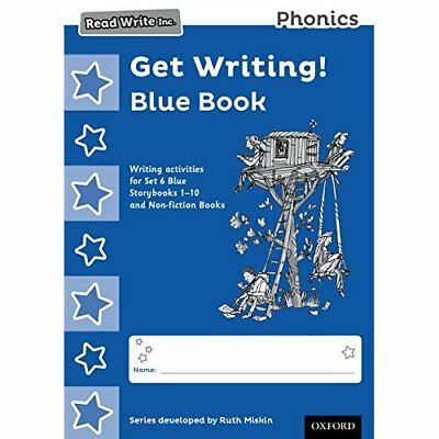 Read Write Inc. Phonics: Get Writing! Blue Book Pack of - Paperback NEW Ruth Mis