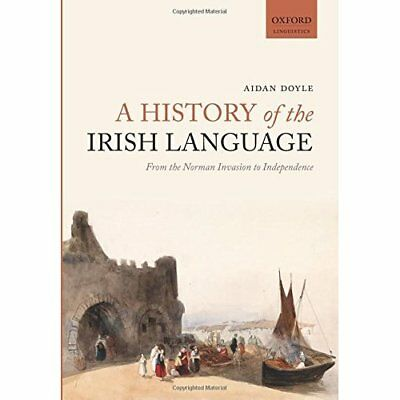 A History of the Irish Language: From the Norman Invasi - Paperback NEW Aidan Do