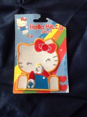 Hello Kitty Patch Sanrio Loungefly Robo Kiss Hot Topic 317169-000 New
