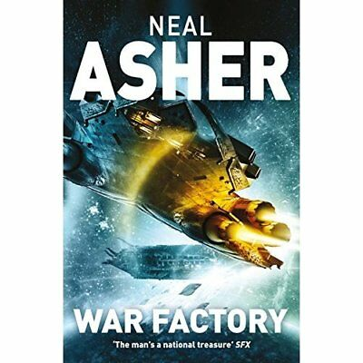 War Factory (Transformation) - Paperback NEW Neal Asher(Auth 06/10/2016