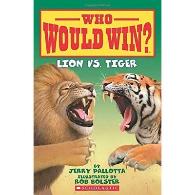 Lion vs. Tiger (Who Would Win?) - Paperback NEW Jerry Pallotta( 2016-01-05