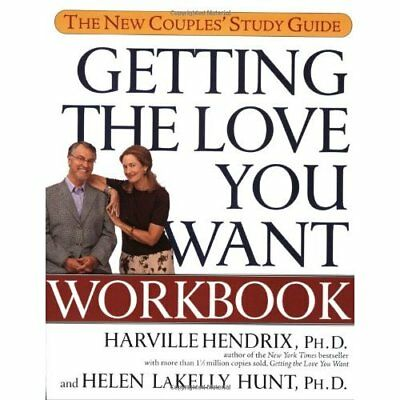 Getting the Love You Want Workbook: The Couples' Study  - Paperback NEW Hendrix,